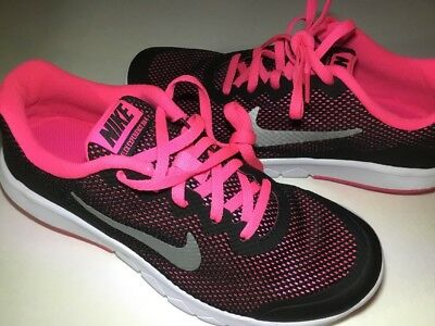 the best attitude b10ec 7d292 Nike Flex Experience RN 3 Light Weight Pink Girls youth Running Shoes Size  5Y