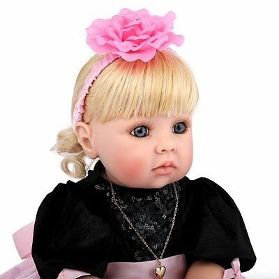 Children Gift Vinyl Silicone Toddler Doll Realistic Reborn Baby Girl Collection