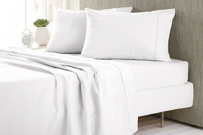SHERIDAN 100% Cotton Flannelette Fitted Sheet Set Double | Queen | King NEW