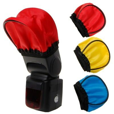 Portable Elastic Flash Bounce Color Diffuser Softbox Cover Universal Speedlite
