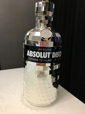 Vodka Absolut Disco 700ml Limited Edition Verpackung Case Hülle Leer