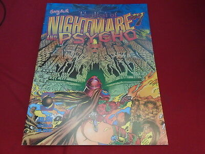 GARY & AL PRESENT - BEST OF NIGHTMARE AND PSYCHO #1 Skywald Graphic Novel 1999