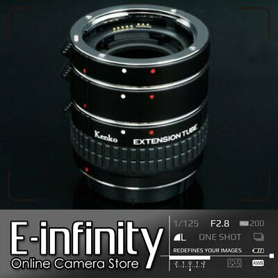 Kenko Auto Extension Tube Set DG with 3 Rings for Canon
