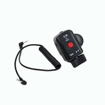 Camcorder Video Remote Contral Zoom Control Fit Panasonic  With Lanc Or Acc Jack