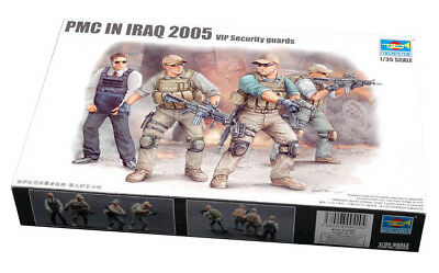 Trumpeter 9360420 PMC im Irak VIP Security Guards 1:35 Figuren Modellbausatz