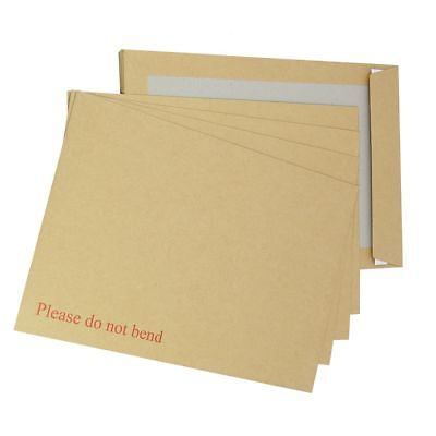 250 Hard Board Backed Envelopes A4 C4 Size 229x324mm Strong Mailers FREE P+P
