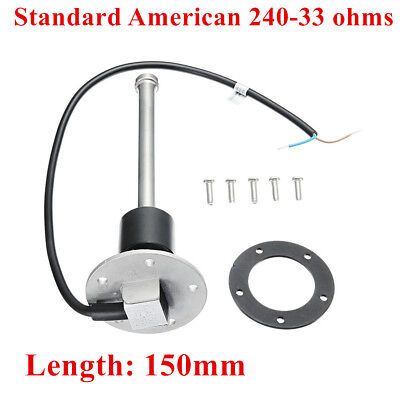 240-33ohms 150mm Boat Fuel Sending Unit Marine Car RV Water Level Gauge Sensor