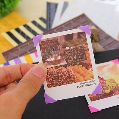408 pcs Self-adhesive Photo Corner Stickers scrapbook album essential NewNA