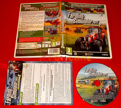 FARMING SIMULATOR 2013 OFFICIAL EXPANSION 2 Pc Versione Italiana ○ COMPLETO - F5