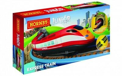 Hornby R1215 Junior Express Train Battery Powered Railway Playset **BRAND NEW**