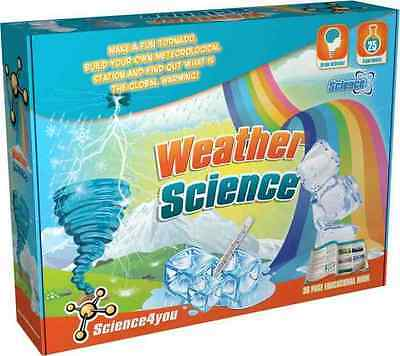 Science4you Weather Science Experiment Kit Include 36 Page Educational Booklet
