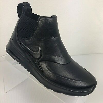 NEW WOMEN'S NIKE Air Max Thea Mid Boots Black Size 8.5