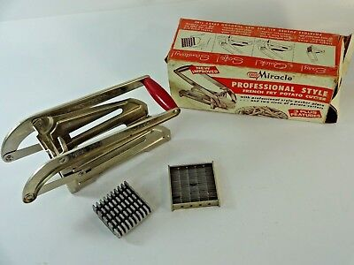 Vintage ECKO Miracle Professional Style French Fry Potato Cutter No. T-13
