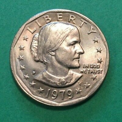 1979 P Susan B Anthony $1 Coins Excellent Circulated Condition