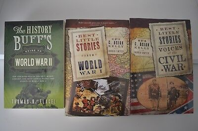Best Little Stories: Voices of the Civil War; WW I & The History Buff's WWII Lot