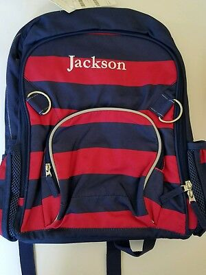 Pottery Barn Kids LARGE Backpack Jackson New With Tags