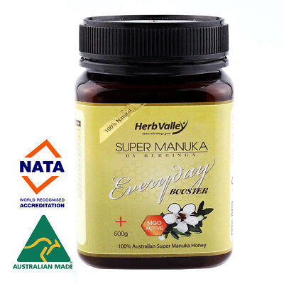 Certified MGO 60+ equiv UMF 5+ 500g - Herb Valley Australian Manuka Honey