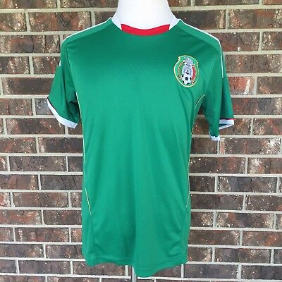 52be7672a92 NIKE MEXICO JERSEY Vintage Youth XL Soccer Futbol Dri-Fit Green ...