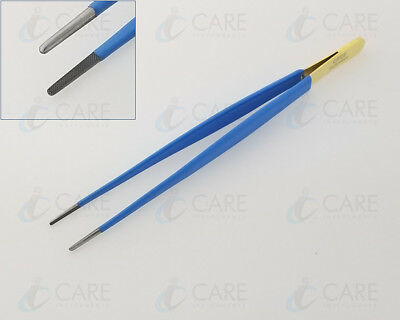 """Care Cushing Tissue Insulated Forceps 7"""" 18cm, Suturing Forceps Care Instruments"""