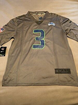 sports shoes a3d0c 6ba7f inexpensive russell wilson salute to service jersey 99272 a20ae
