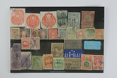 1800's-1900's Unusual vintage stamp lot SNK00402
