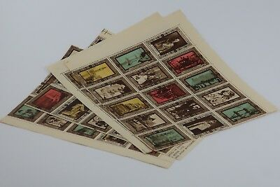 60x Mint unused 1937 Coronation Cinderella stamps. Very collectable SNK00404