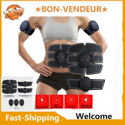 Smart Abs Stimulator Train Fitness Gear Muscle Abdominal toning belt Trainer ven