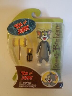 Tom and Jerry Action Figures PVC Model Cat&Mouse Toys Flexible