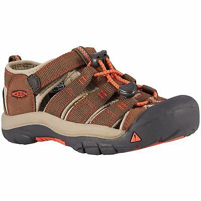Keen Newport H2 Dark Earth Spicy Orange Youth Hiking Outdoor Sporty Sandals