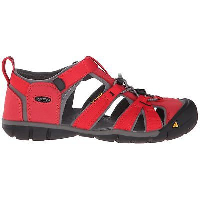 Keen Seacamp II CNX Racing Red Gargoyle Youth Closed-Back Washable Sandals