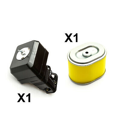 Non Genuine Air Filter Box + Yellow Air Filter Fits Honda GX140 Engines GoKarts