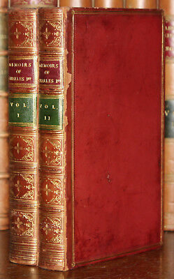 1848 Memoirs The Reign of Charles the First I 1st 2 Vols Fairfax Correspondence