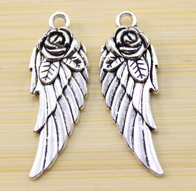 25//50//100 pcs Very beautiful pegasus Tibet silver Charm pendant 15x14 mm