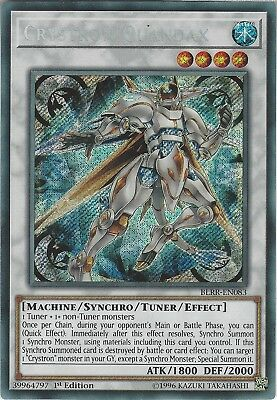 Yu-Gi-Oh: CRYSTRON QUANDAX - BLRR-EN083 - 1st Edition - Secret Rare Card