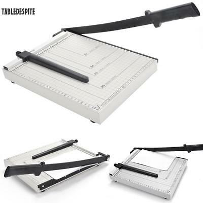 "A4 Paper Cutter Trimmer Guillotine Blade Cut for Craft Paper Photo 12"" x 9"" NEW"