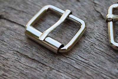 Metal Roller Buckle TO FIT 25mm Strap SILVER NICKEL Finish replacement buckle
