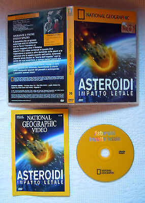 DVD ASTEROIDES Impacto letale National Geographic