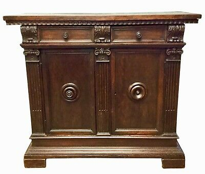 ESTATE 18th Century Italian Walnut Credenza
