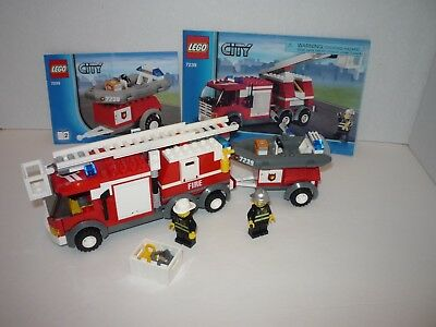 Lego City Set 7239 Fire Truck 100 Complete With Instructions
