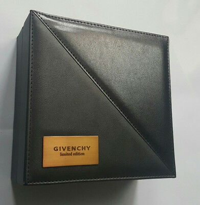Givenchy Limited Edition 2Pc Black Leather Sunglass Storage Case