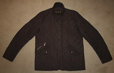 Barbour CHELSEA SPORTSQUILT Jacket in Brown - Small  [2576]