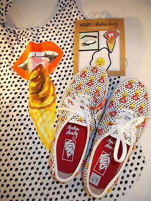 8b27e44bdab VANS Kendra Dandy I Scream Ice Cream Shoes Women Sz 8.5 w Matching Top