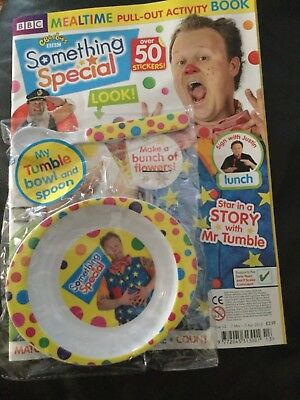CBeebies Something Special Magazine Issue 13 Mar 2012 Mr Tumble Bowl And Spoon