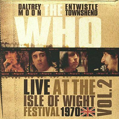 The Who Live At The Isle Of Wight Festival 1970 Vol.2 Vinile Lp Nuovo Rsd 2018