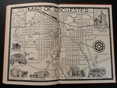 VINTAGE 1955 THE Mayo Clinic by Lucy Wilder Rochester Minnesota History Book