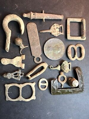 Lot Of Quality Metal Detector Finds. Ancient Roman, Greek, Ancient And More.