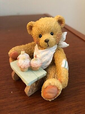 Cherished Teddies Age 3 #911313 - Three Cheers For You 1992