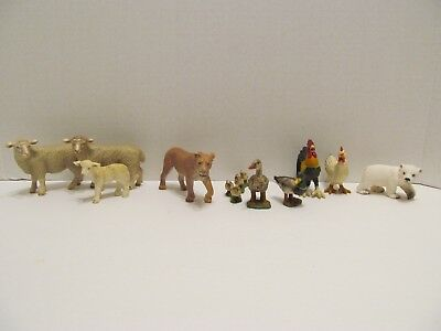 Schleich Germany Am Limes 69 Animal Figure Lot