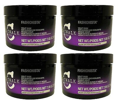 TIGI - Catwalk Fashionista Violet Mask for Blondes 7 oz (Pack of 4)