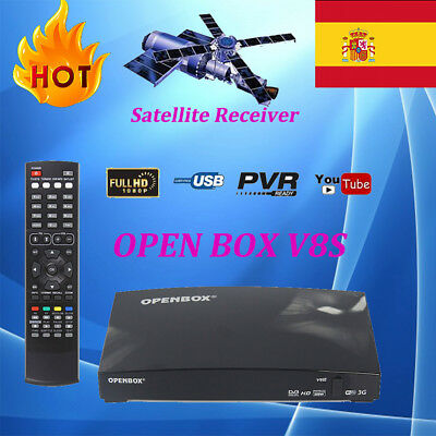 OPENBOX V8S FTA Digital Satellite TV Receiver HD 1080P Support WEB TV Biss key